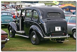 Нажмите на изображение для увеличения Название: 1949 Austin FX3 Taxi rear.jpg Просмотров: 0 Размер:639.9 Кб ID:1391441