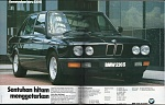 1988 BMW E28 520is.